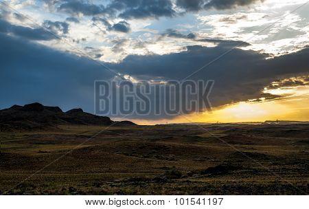 The sky of Gobi