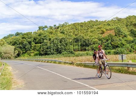 Cycling In Malawi