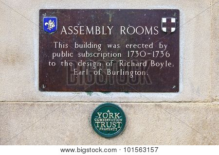 Assembly Rooms In York