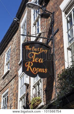 The Earl Grey Tea Rooms In York
