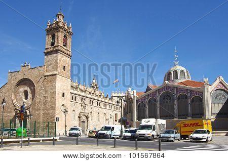 Central Market Of Valencia