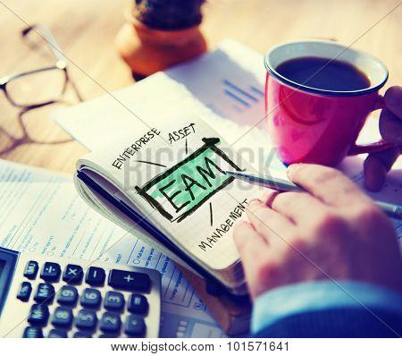 Enterprise Asset Management EAM Evaluation Operations Accounting Concept