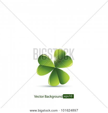 Leaf clover.Vector