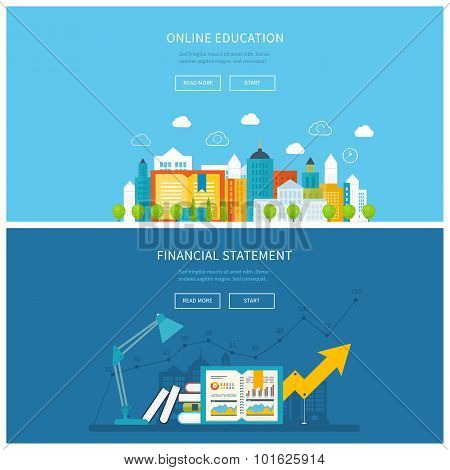 Mobile education, online training courses, business analysis, financial report, consulting.
