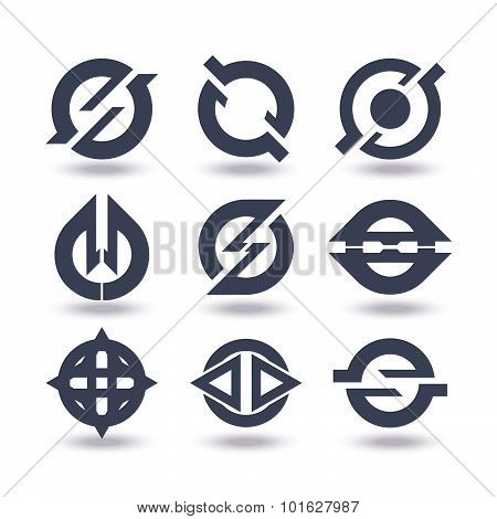 Business Icons Set Graphic Design Editable For Your Design. Business Logo. Isolated On White Backgro
