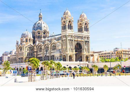 Cathedrale de la Major in Marseilles, France
