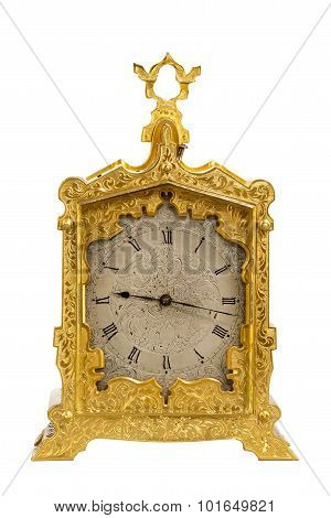 Old Antique Brass Carriage Clock