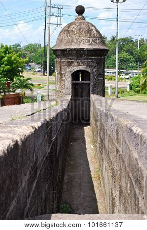 Old Turret on a Fortification Wall