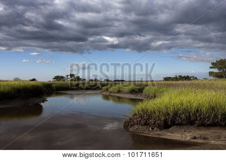 Clouds Above the Marshes of Glynn County