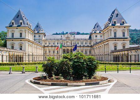 The Castle Of Valentino, Turin