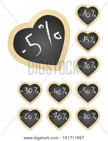 Heart Slates Offers