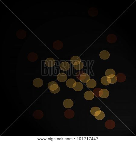 Abstract Bokeh Background with Copy Space