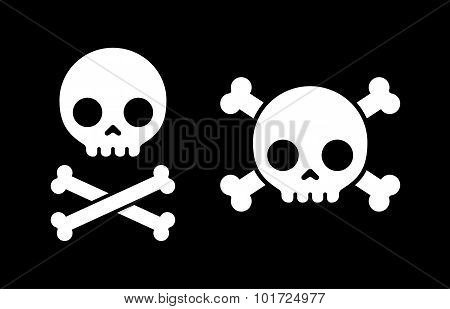 Skull And Crossbones Icons