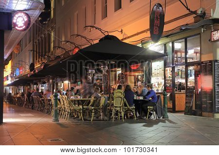 Melbourne restaurant bar Australia