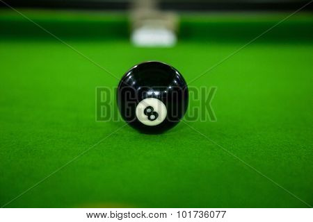A billiard room