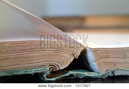 Flipping Through A Book