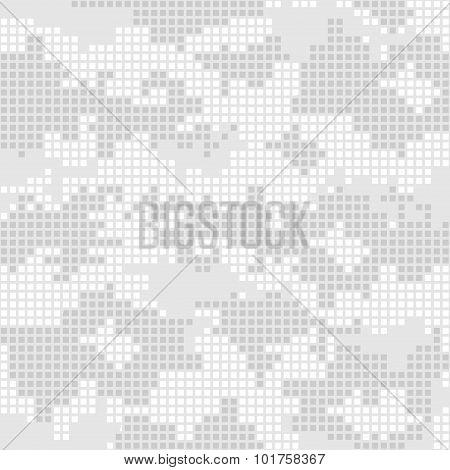 Urban camo pattern - gray pixels