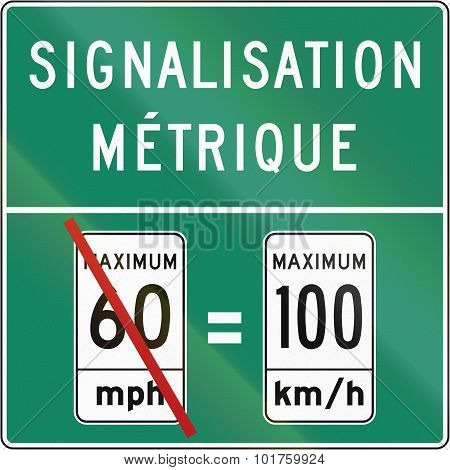 Metric System In Canada