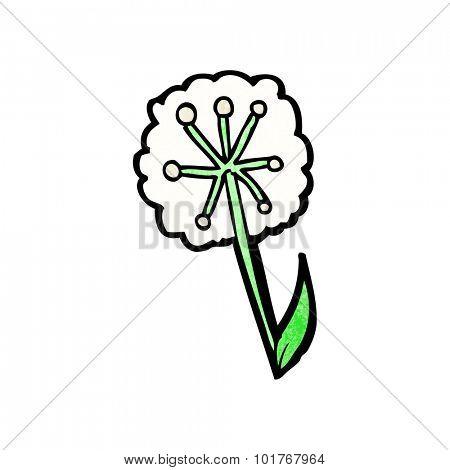 cartoon dandelion