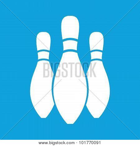 Three skittles icon, simple