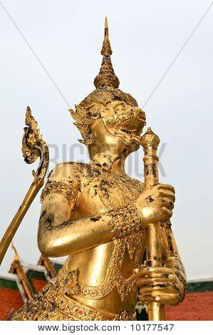 Golden Statue.