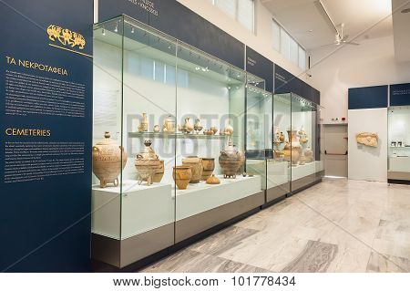 Heraklion Archaeological Museum At Crete, Greece