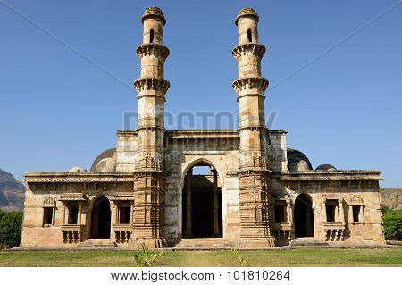 Champaner - Pavagadh Archaeological Park Near Vadodara, India