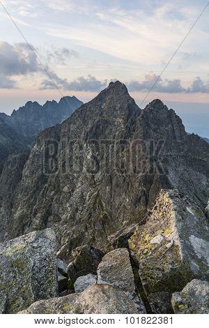 Summits View Before Sunrise