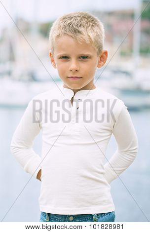 Boy In The Port.