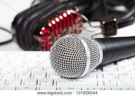 Microphone And Keyboard
