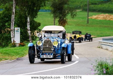 Editorial,12 September 2015: France: Xxxiieme Festival Enthousiastes Bugatti In Molsheim.