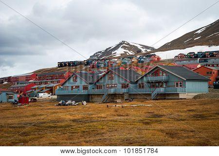 Longyearbyen City, Svalbard
