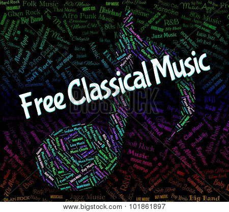 Free Classical Music Shows No Charge And Acoustic