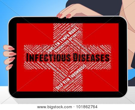 Infectious Diseases Means Ill Health And Ailment
