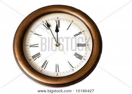 Macro Of Antique Watch