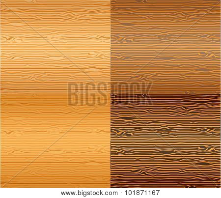 Wood textures set.