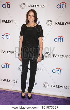 LOS ANGELES - SEP 16:  Jorja Fox at the PaleyFest 2015 Fall TV Preview -