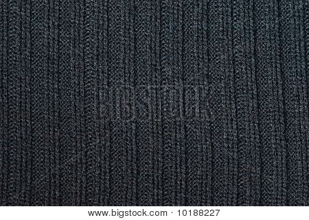 fabrik texture black knitted wool