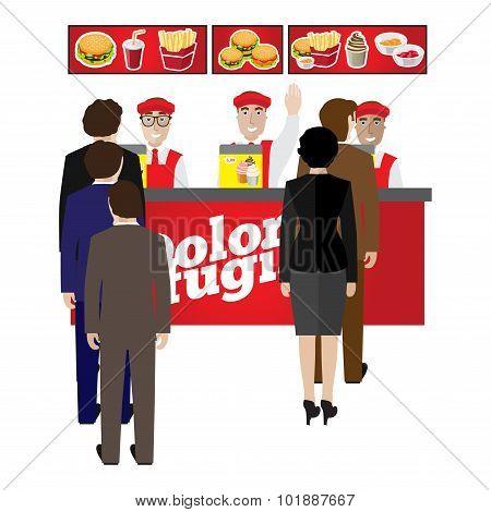 fastfood banner