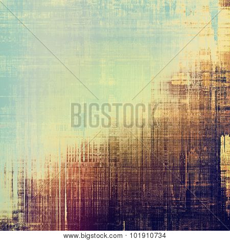 Abstract old background or faded grunge texture. With different color patterns: yellow (beige); brown; blue; purple (violet)