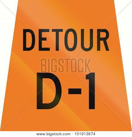 Detour D-1 In Canada