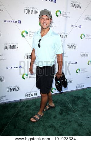 LOS ANGELES - JUN 8:  Samuel Page at the SAG Foundations 30TH Anniversary LA Golf Classi at the Lakeside Golf Club on June 8, 2015 in Toluca Lake, CA