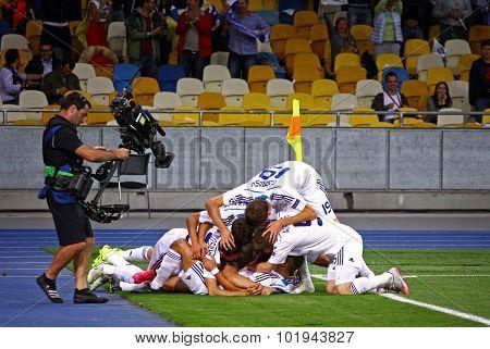 Uefa Champions League Game Dynamo Kyiv Vs Porto