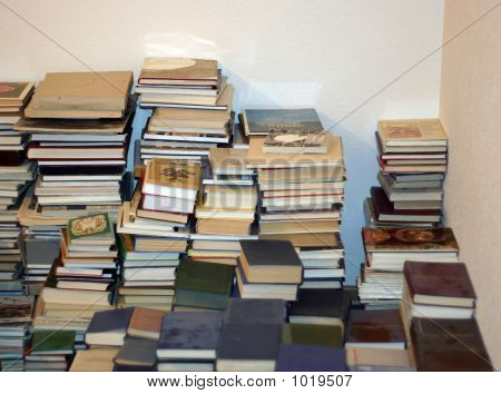 Books Stored In A Mass