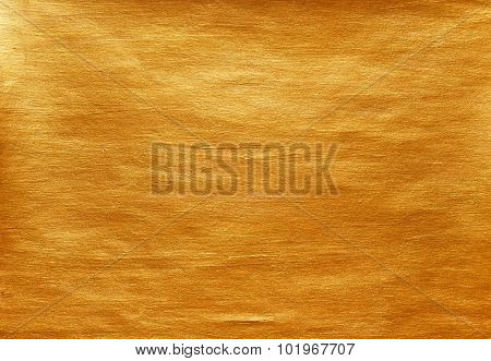 Gold Watercolor Texture Paint Stain Abstract Illustration Background. Shining Brush Stroke For You A