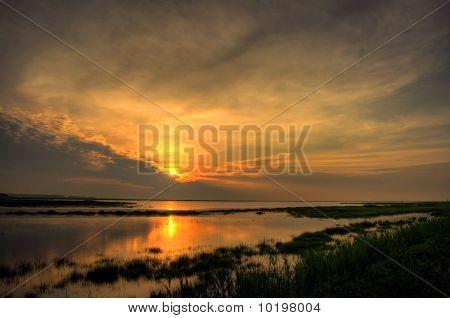 Salt Marsh Sunrise