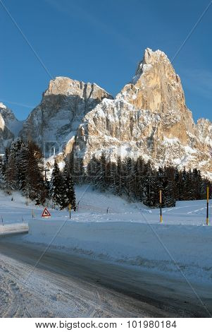 Passo Rolle, The Dolomites, Northern Italy