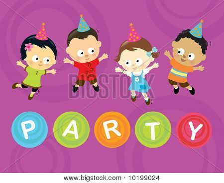 Little party kids