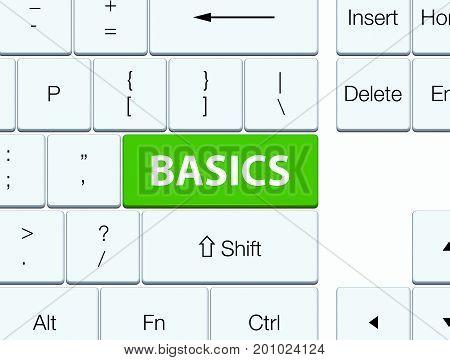 Basics Soft Green Keyboard Button