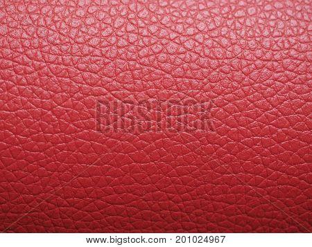 Bordeaux Red Leatherette Texture Background